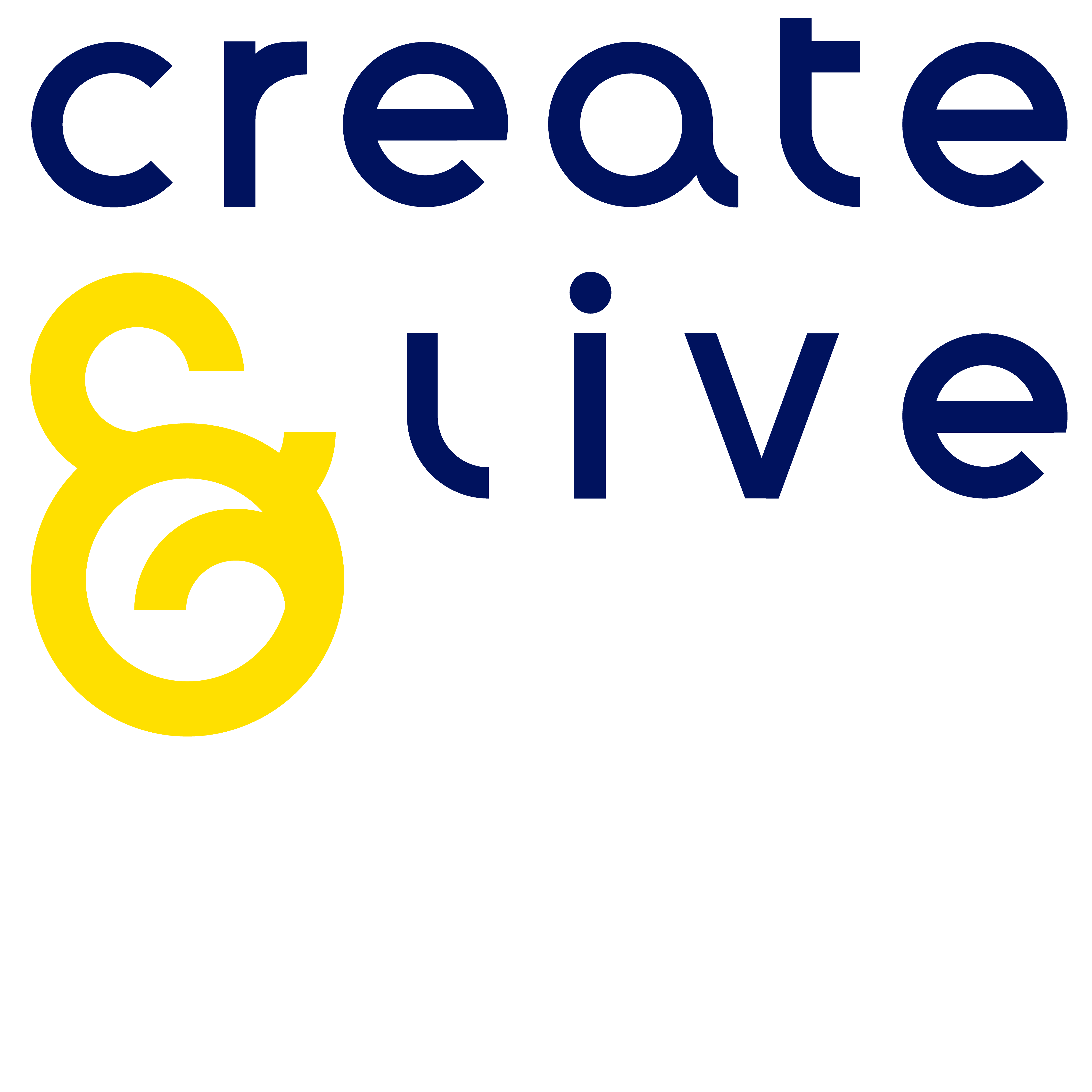 Create and Live Org logo Created by Visual Ess