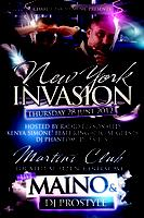 NEW YORK INVASION! MAINO VIP Concert with DJ PROSTYLE of...