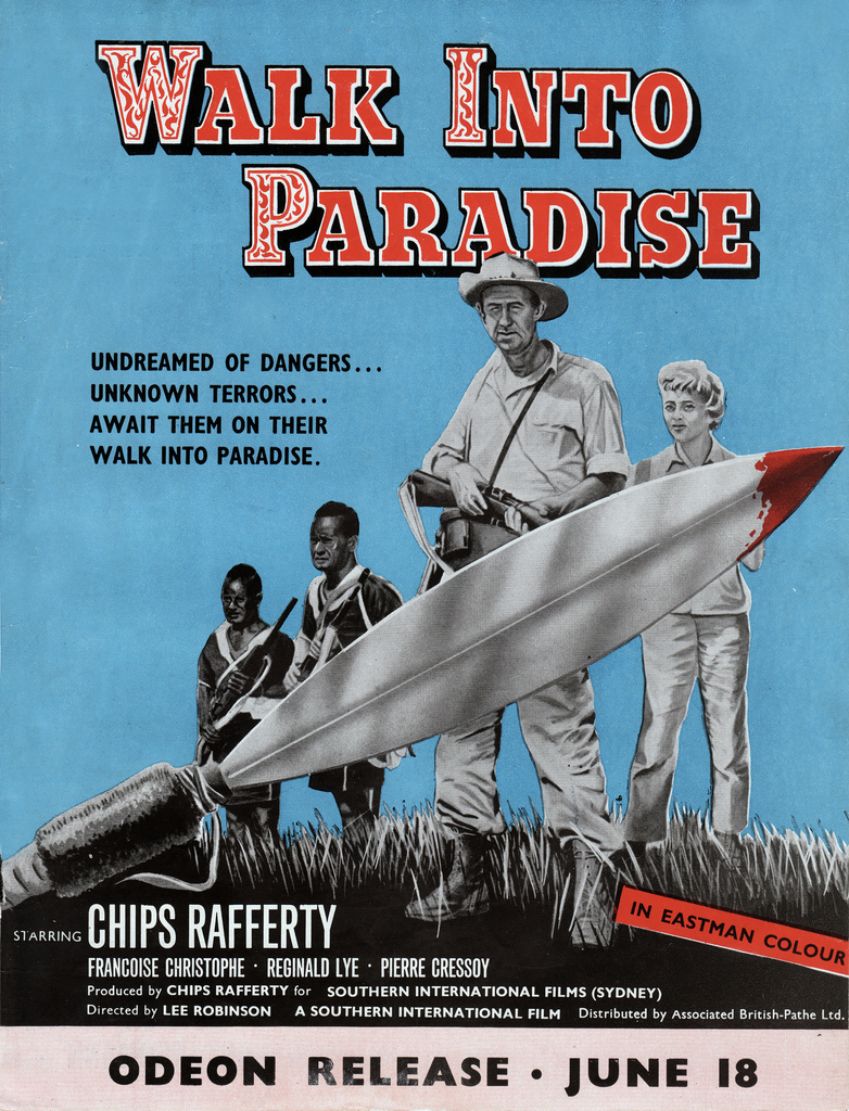Walk Into Paradise (1956) - UK poster