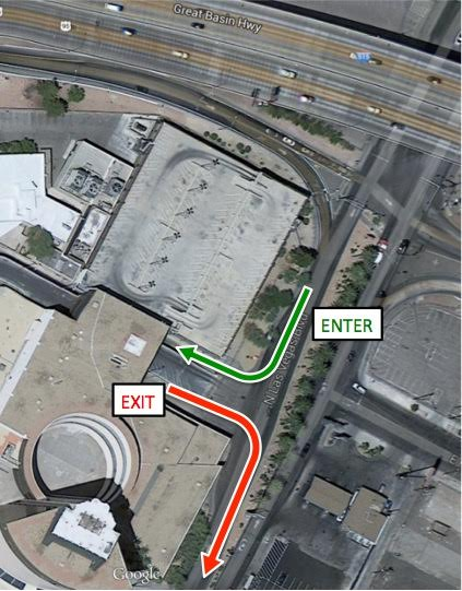 Zappos Map