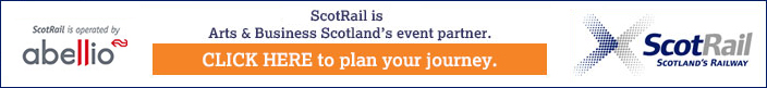 Scotrail is Arts & Business Scotland's event partner
