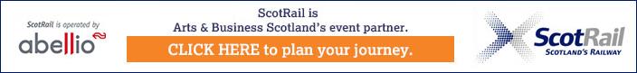 Scotrail is Arts & Business Scotland's event partner