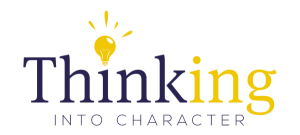 Thinking into Character Project Logo