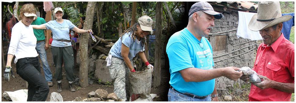 TCP working in Honduras