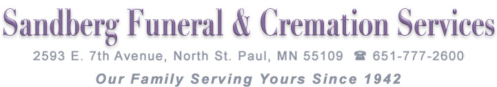 Sandberg Funeral & Cremation Services