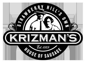 Krizman's Sausage Logo