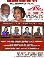 FULL GOSPEL'S CAMPMEETING CONVENTION 2013