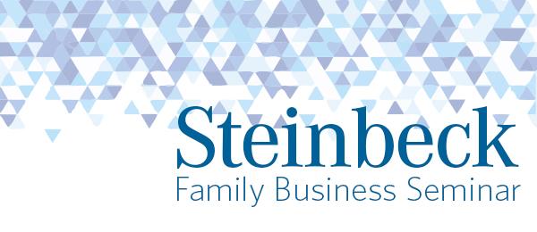Steinbeck Family Business Seminar