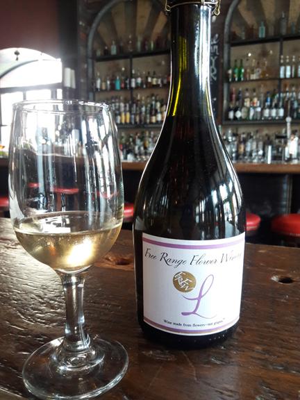 Sparkling Lavender Wine