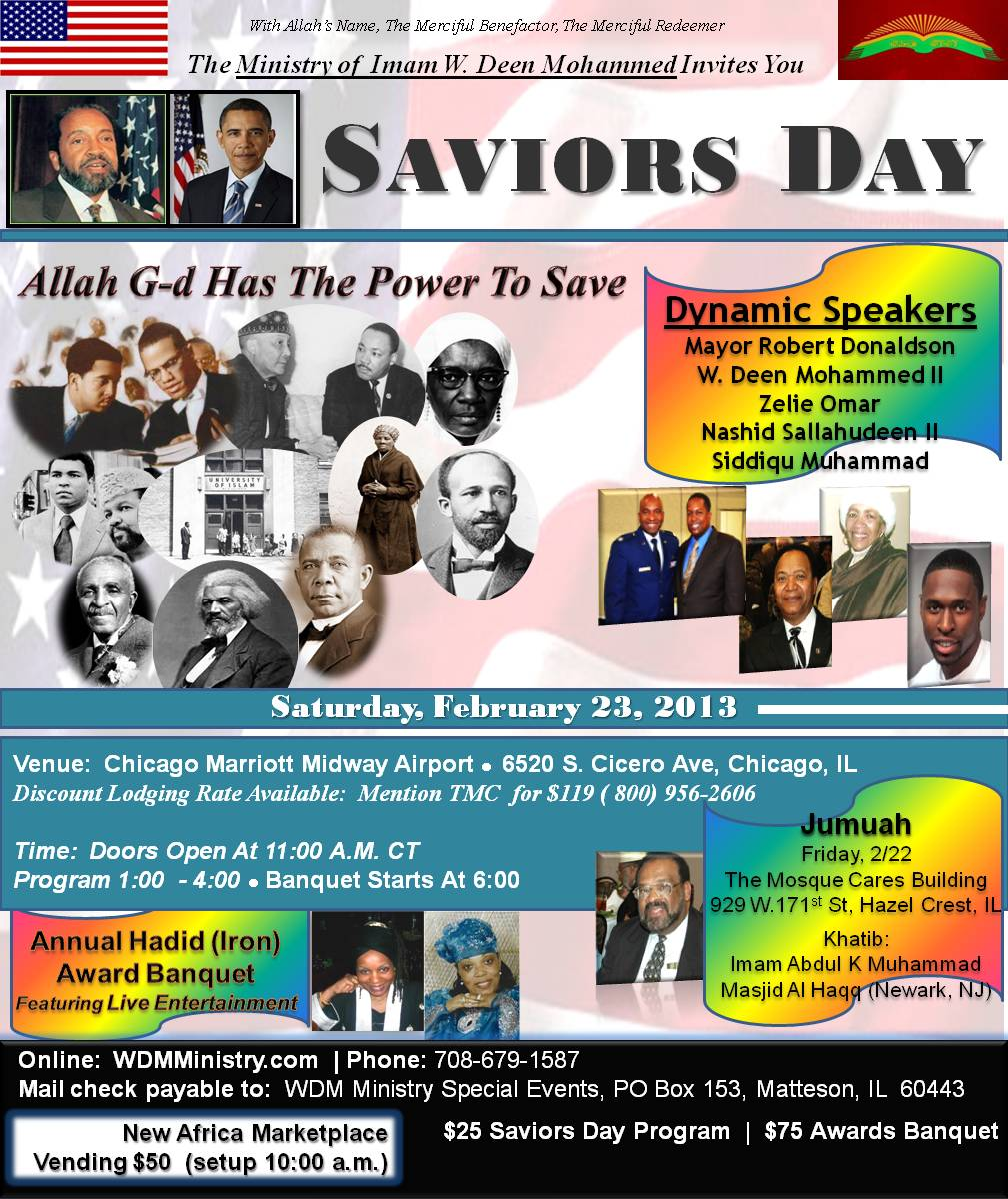 Saviors Day 2012
