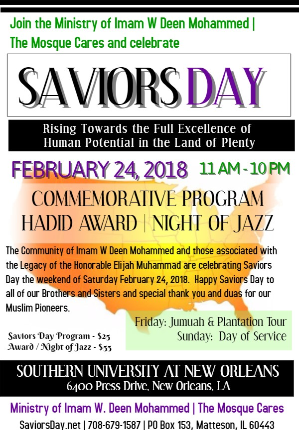 Saviors Day 2018