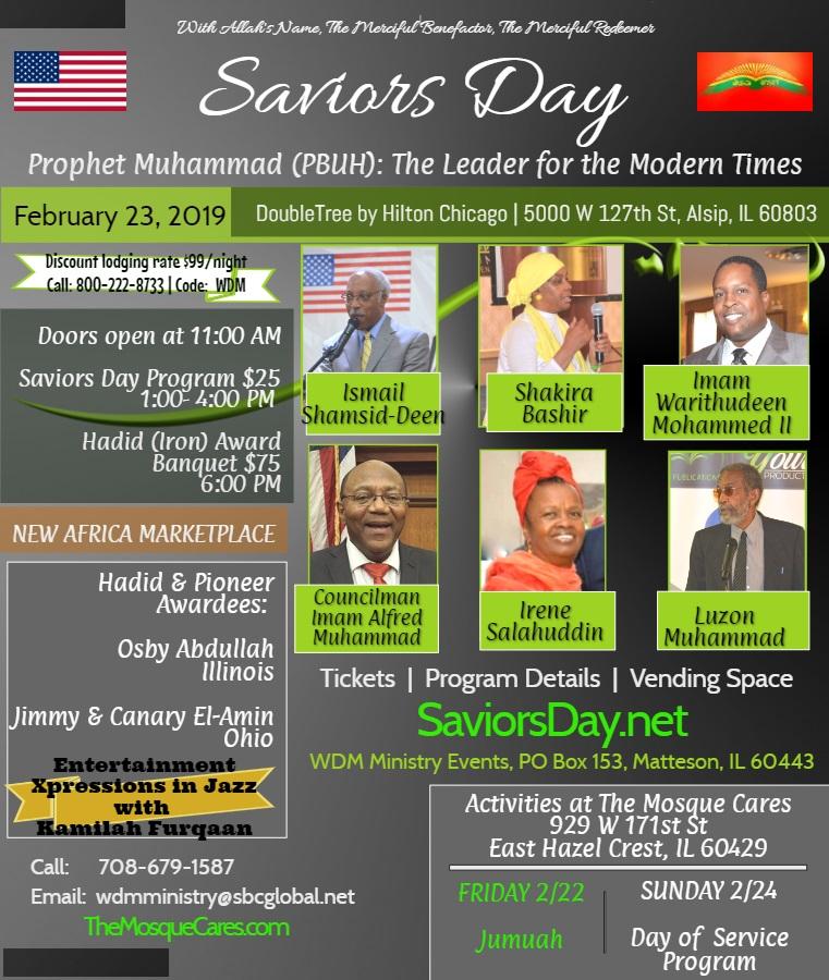 2019 Saviors Day Program