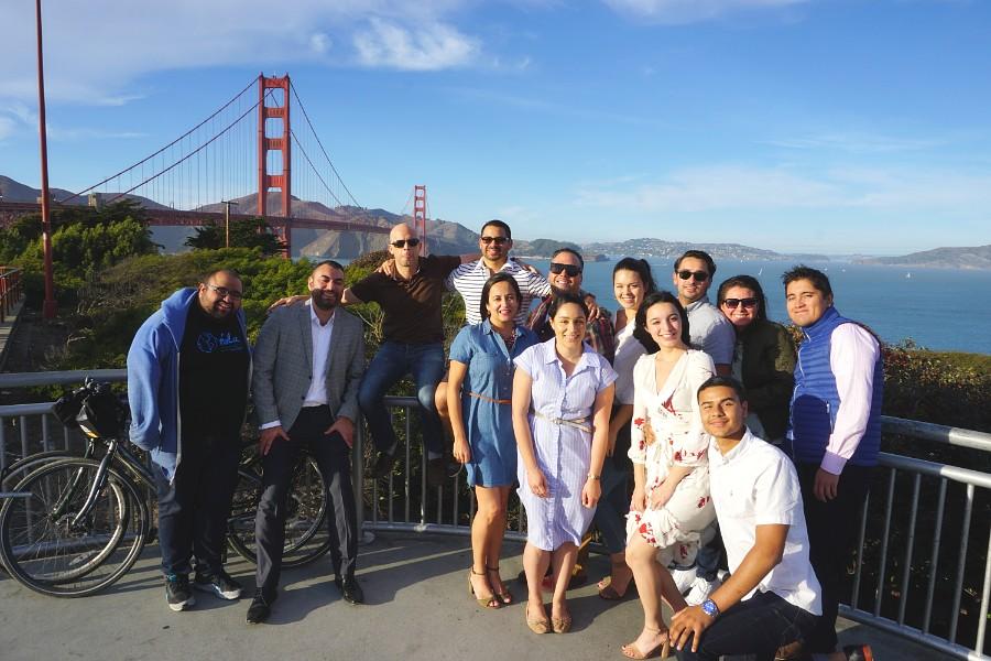 Tour de Fran - Prospanica at Golden Gate Bridge