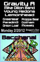 Bacchanal 12: Gravity A, Mike Dillon, Young Hedons,...