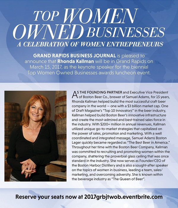 Grand rapids business journal 39 s top women owned businesses - Home and garden show 2017 grand rapids ...