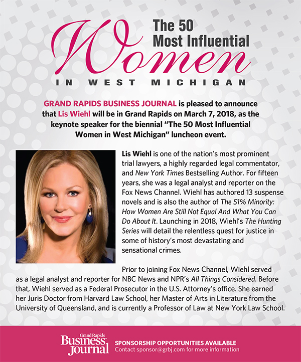 The 50 Most Influential Women in West Michigan