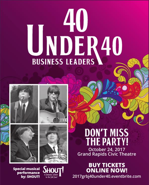 2017 GRBJ 40 Under 40 Party!