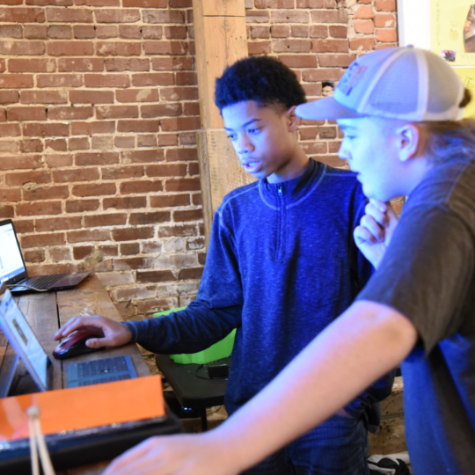 Code video games and meet game designers