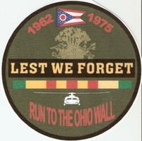 Fifth Annual Run to Ohio Memorials, Wall & Rally