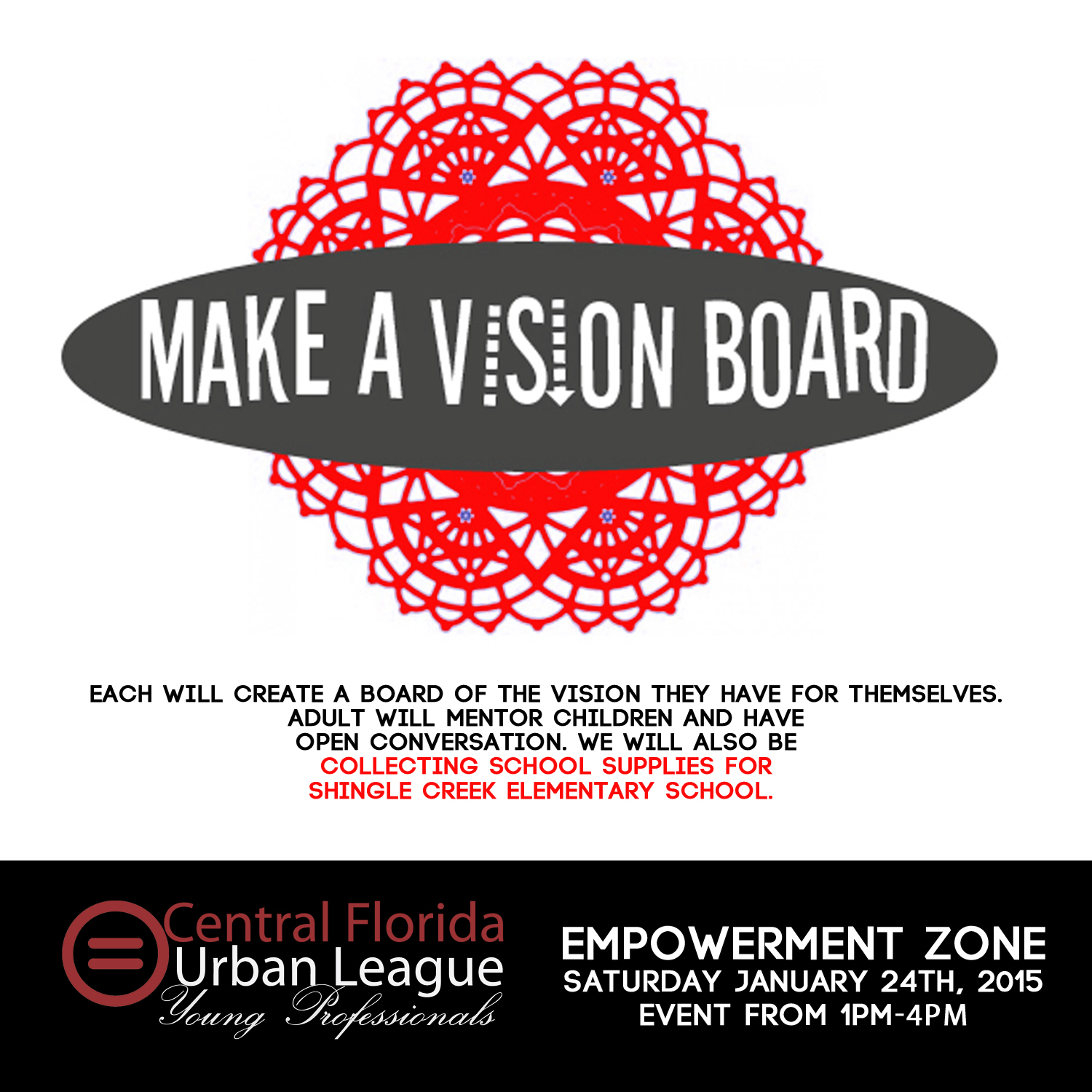 Manifest the Vision, Vision Board Party Event | WQQK-FM |Events Vision Board