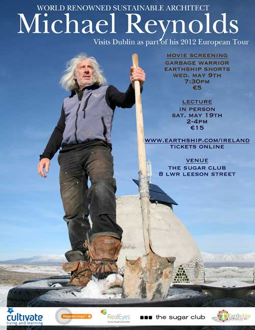 Ireland Earthship Event