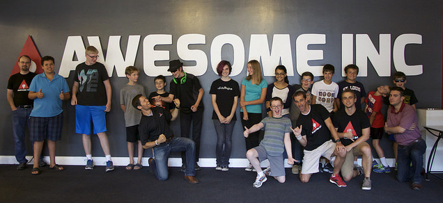 Week of Code students and instructors