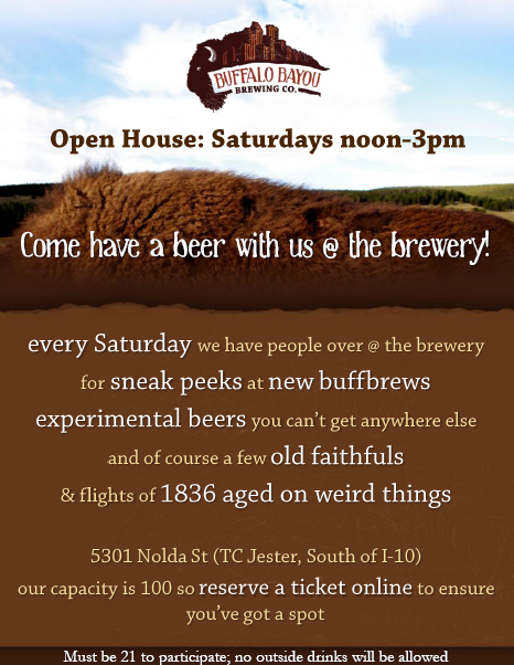 Buffbrew open house invitation