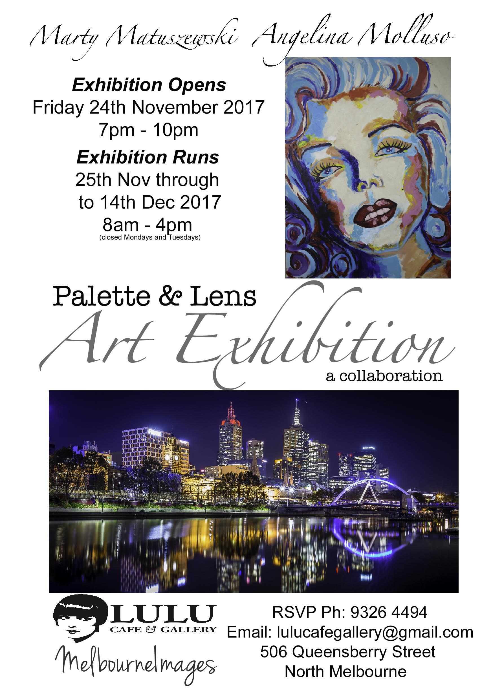 Palette & Lens - a collaboration