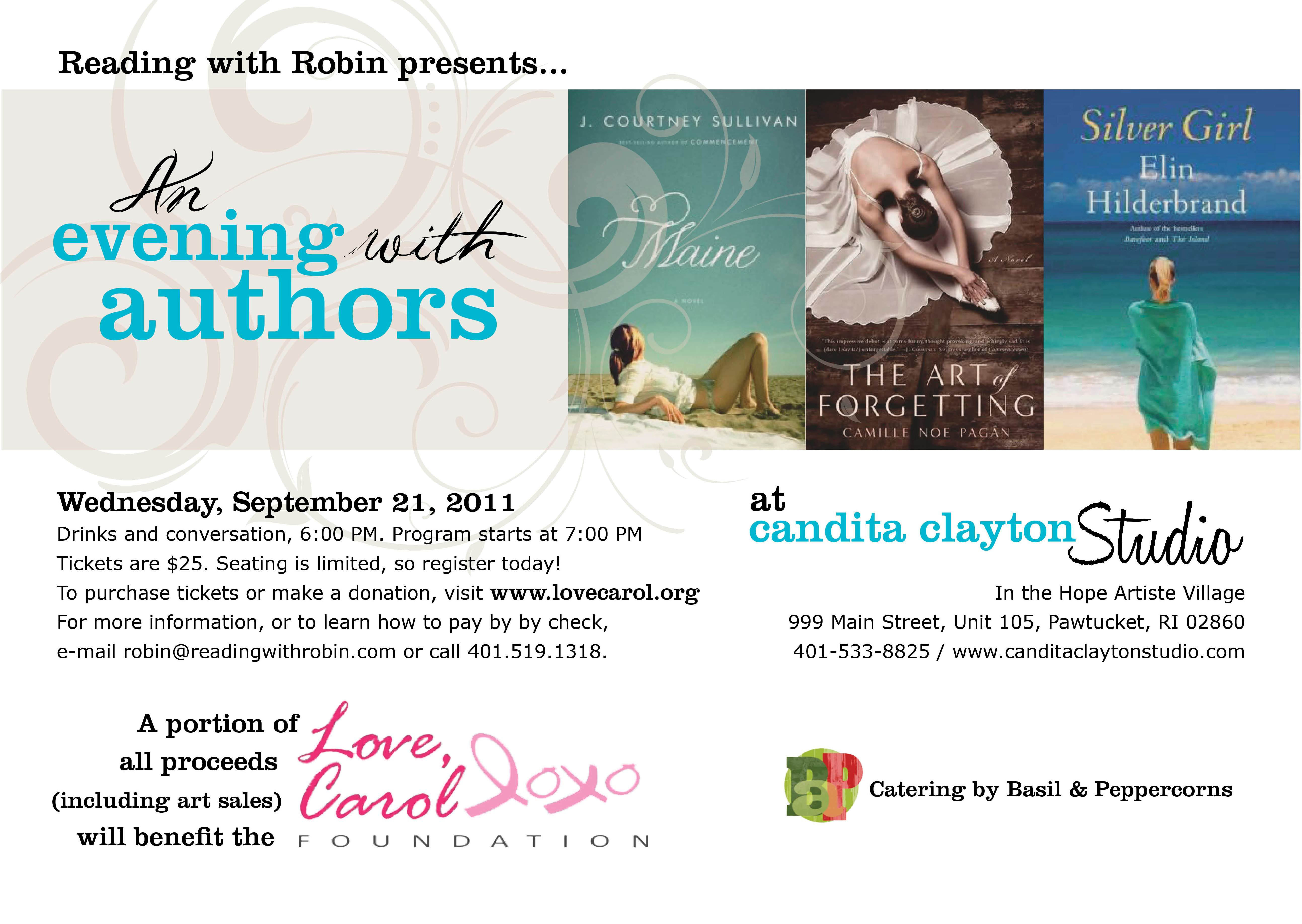 An Evening With Authors