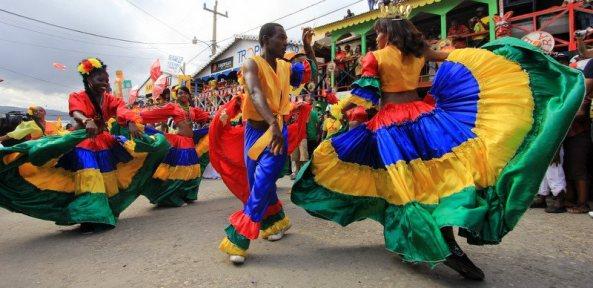 Haitian Carnaval Dancers