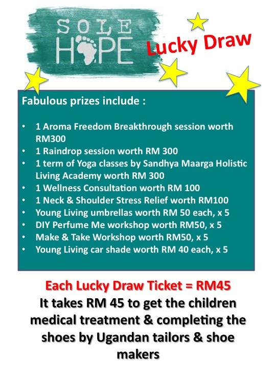 Sole Hope Charity Lucky Draw