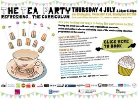 The Tea Party - Refreshing the Curriculum
