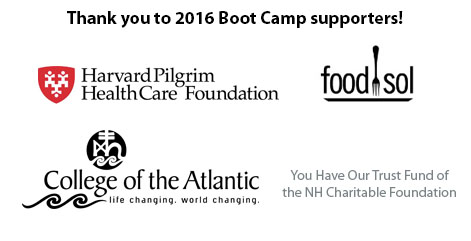 2016 Boot Camp Supporters