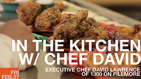 In The Kitchen with Chef David Lawrence