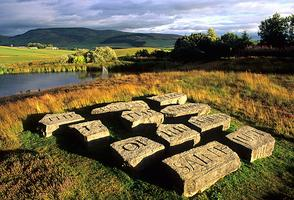 Little Sparta by minibus from Edinburgh