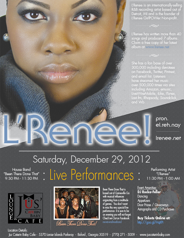 L'Renee and the Been there done that Band