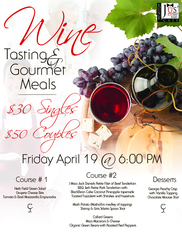 Wine Tasting And Gourmet Meals in Buford