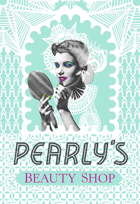 the artist Swoon hosts Pearly's Beauty Shop fundraiser party 9/8/12