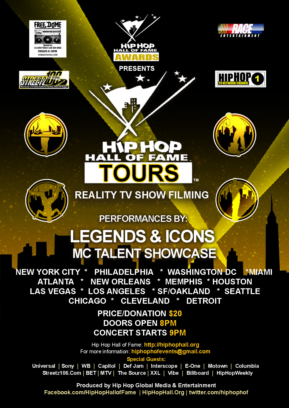 Legends & Icons National Tour