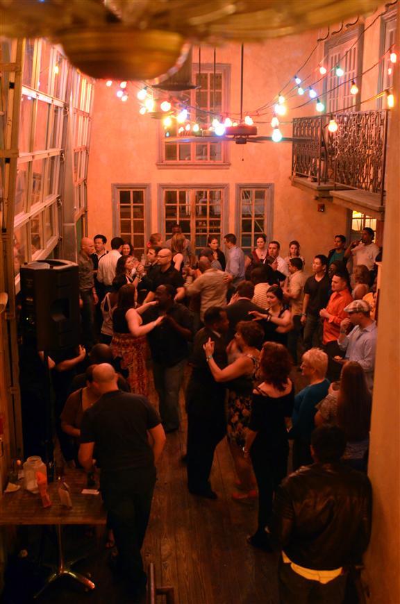 2nd Floor Patio dancing