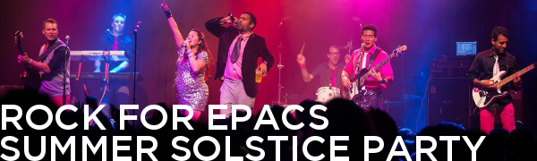 ROCK FOR EPACS || SUMMER SOLSTICE PARTY || COVERFLOW