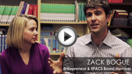 Zack Bogue and Marissa Mayer, EPACS-EPAPA Supporters