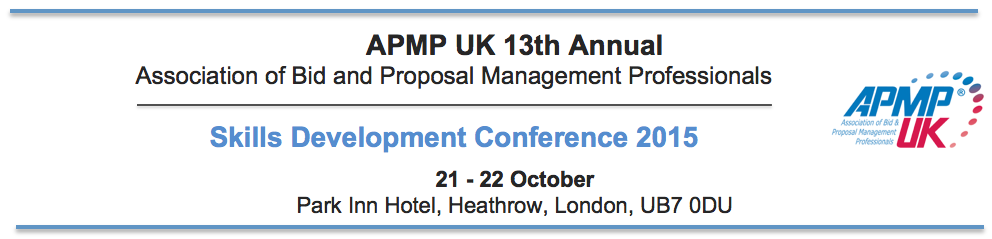APMP UK Conference 2015
