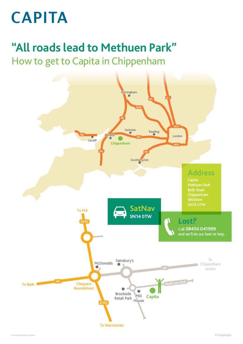 Capita Map