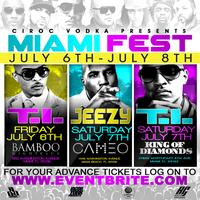 WEEKEND PASS- MIAMI WITH TI & JEEZY