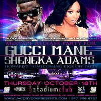 GUCCI MANE & SHENEKA ADAMS HOWARD's HOMECOMING KICK OFF...