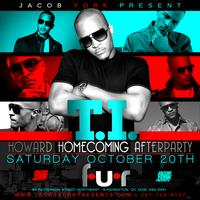 TI OFFICIAL HOWARD HOMECOMING AFTERPARTY SATURDAY OCT 20th