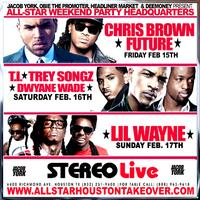 ALLSTAR WEEKEND PASS HOUSTON TAKEOVER @ STEREO LIVE, Chris...
