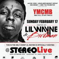 Lil Wayne LIV on Sunday in Houston @ STEREO LIVE FEB 17th...