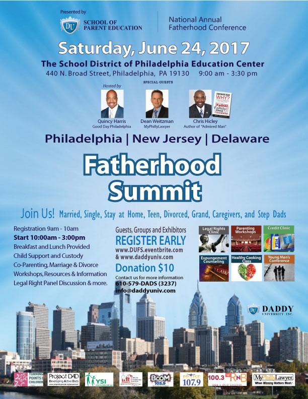 Daddy University Fatherhood Summit